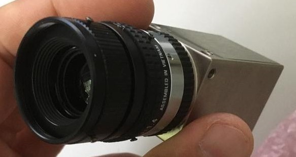 Industriekamera mit Objektiv